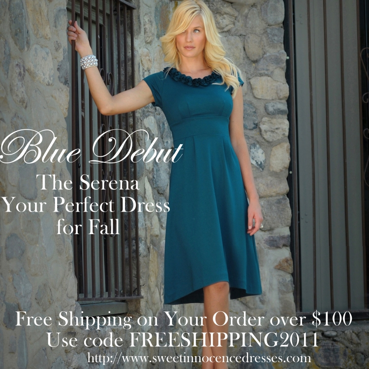 Blue Debut-Free Shipping for 3 days only