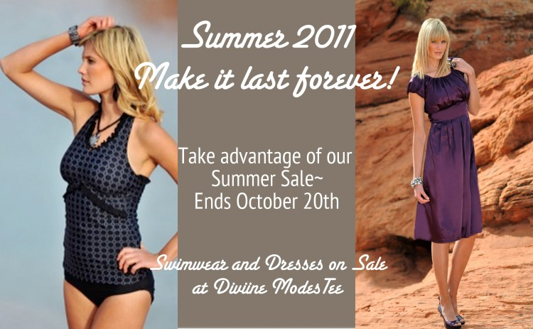 Swimwear and dress sale