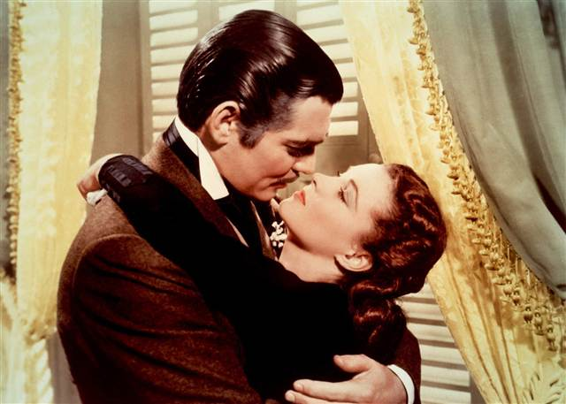 Gone with the Wind, 5 reasons to kiss,