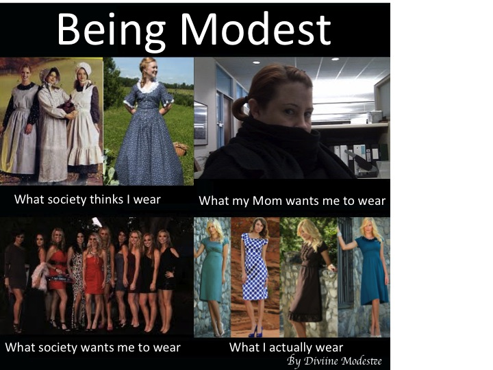 What I do meme, modesty,