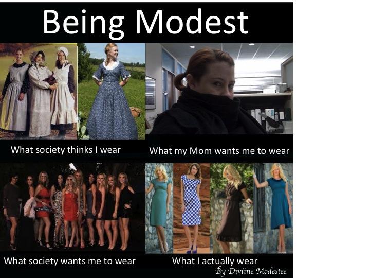 What I do meme, modesty,