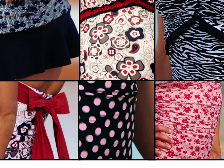 2012 divinita sole swimwear, diviine modestee swimwear, modest swimwear, women's swimwear, lands end swimwear