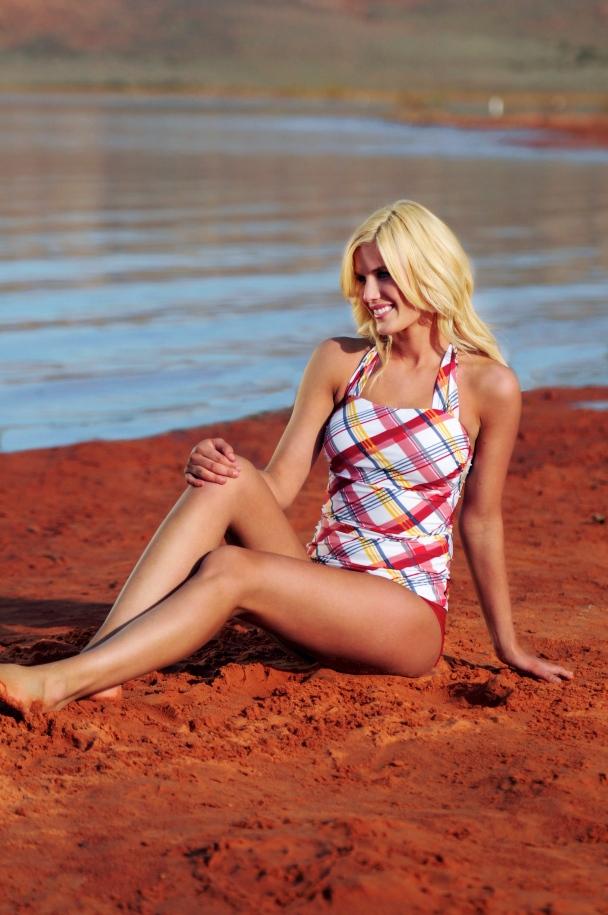 Costco Swimwear Roadshow, diviine modestee, modest swimsuits,