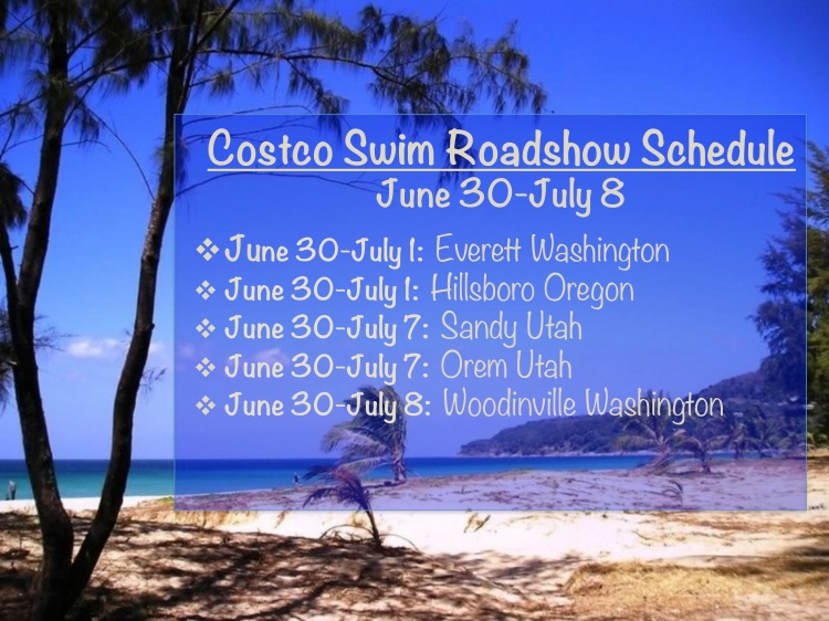 costco roadshow schedule