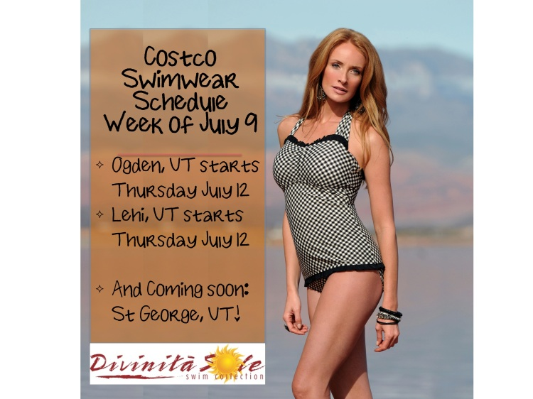 Costco Swim Roadshow, modest swimwear, diviine modestee
