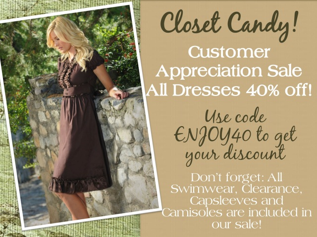 40% off, coupon code, modest dresses