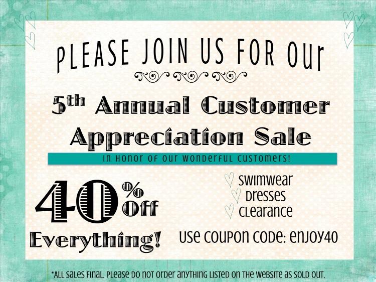 Sale, 40% coupon code, coupon code