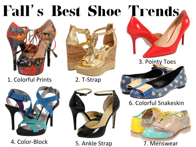 Shoe Trends for Fall