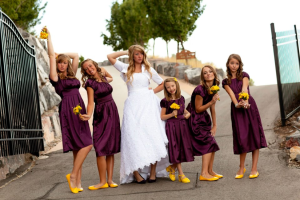 bridesmaid dresses, modest dresses, purple bridesmaid, purple dresses