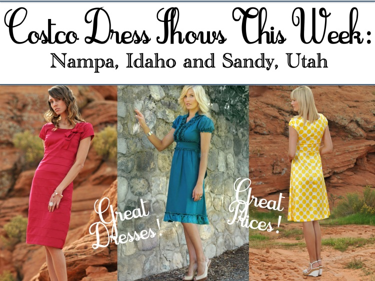 Costco Roadshow, modest dresses, diviine modestee