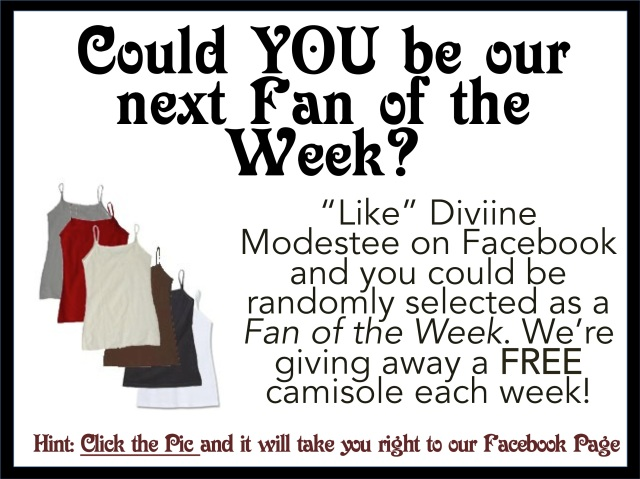 Diviine Modestee's Fan of the Week Contest