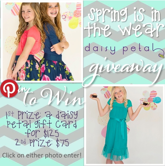 spring is in the wear pinterest contest email