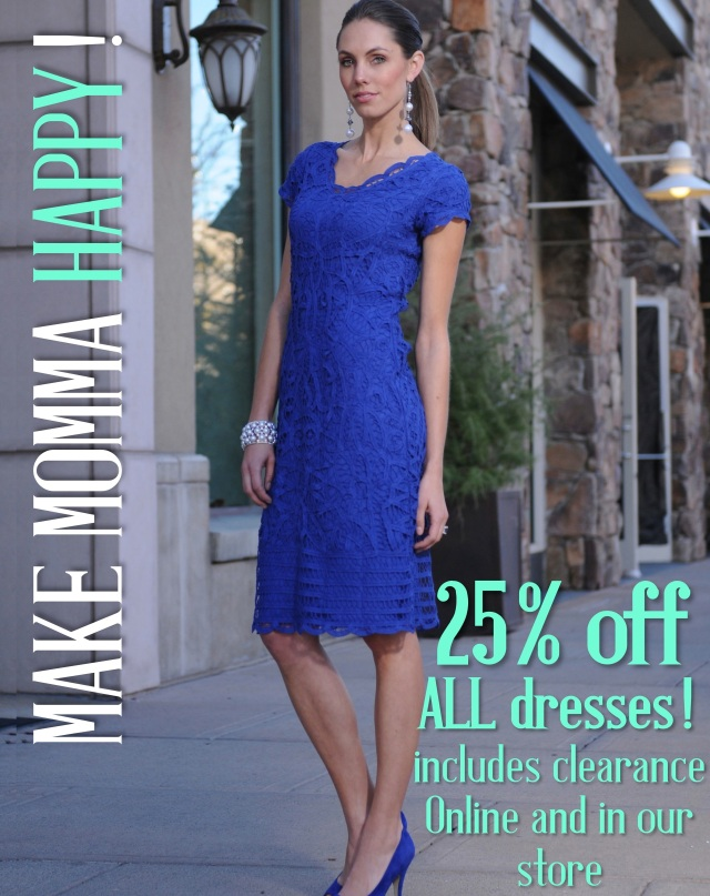 Mother's Day Sale 25% off