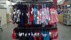 Costco Swim racks