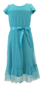 Blue Sherbet Tulle Dress from Daisy Petal Girls by Diviine Modestee