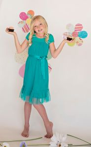 Tulle Dress: Blue Sherbet